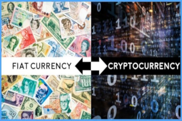 Crypto Currency and Fiat Currency